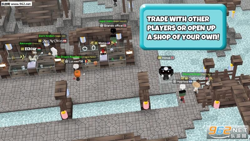 立方体城堡沙盒世界大厦安卓版v1.9.85(CubicCastles)_截图2