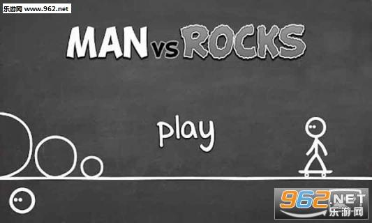 Man vs Rocks安卓版v1.1_截图1