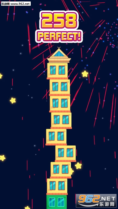 摩天大楼建造者官方版(Skyscraper Stack Builder)v1.0_截图2