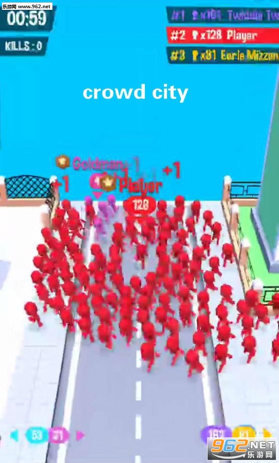 游戏人群城市Crowd City