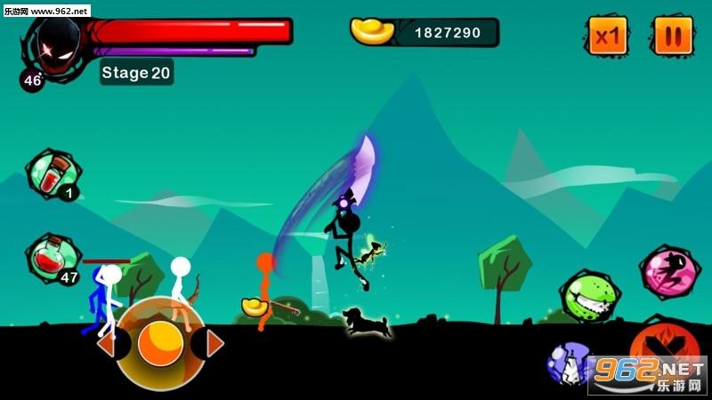 火柴人幽灵:忍者战士安卓最新版
