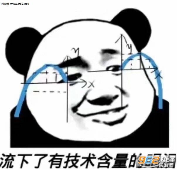 流下了有表情眼泪的表情技术产品推广含量包图片