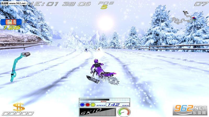 极限滑雪摩托官方版v5.2截图0