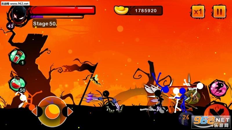 火柴人幽灵:忍者战士安卓最新版v1.3_截图3