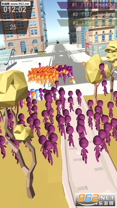 2(crowd city.io)   《火柴人拥挤城市手游》游戏截图