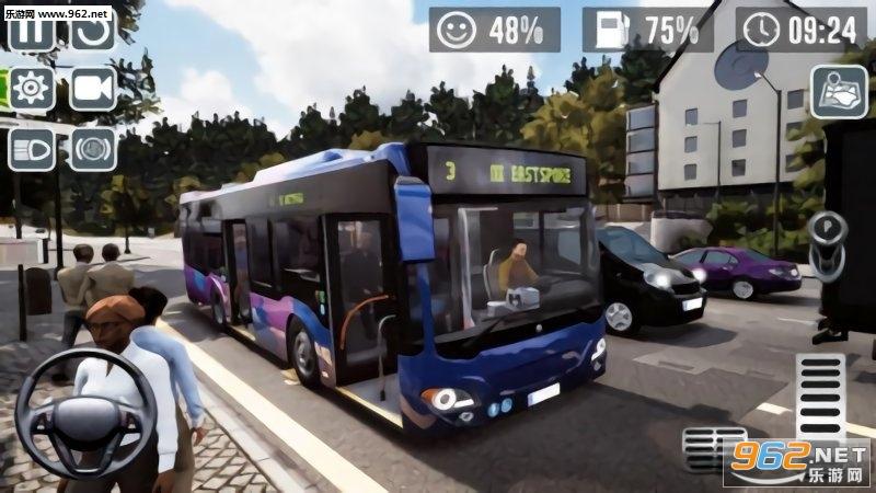 公交车模拟器2019安卓版v1.0_截图1