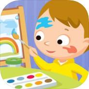 儿童绘画游戏官方版