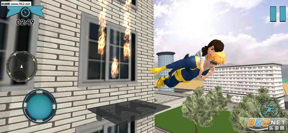 弹性超级英雄战争官方版v1.0(Elastic Superhero War-Battle)_截图1