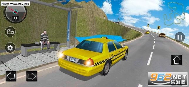山道出租车模拟3D官方版v1.0_截图0