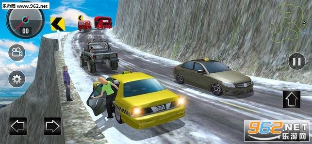 山道出租车模拟3D官方版v1.0_截图1