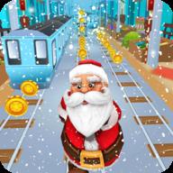 圣诞老人地铁跑酷安卓版