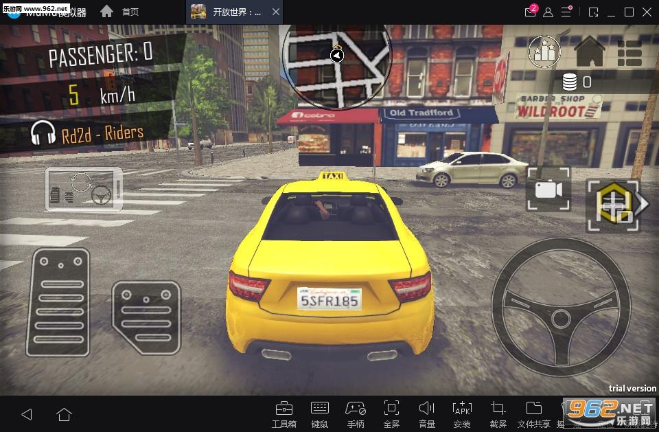 开放世界:出租车驾驶模拟器3D安卓版v2.5(OpenWordTaxiDriver)截图2