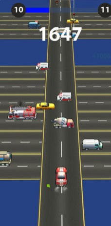 Car Dash in Highway Traffic官方版v1.0截图1