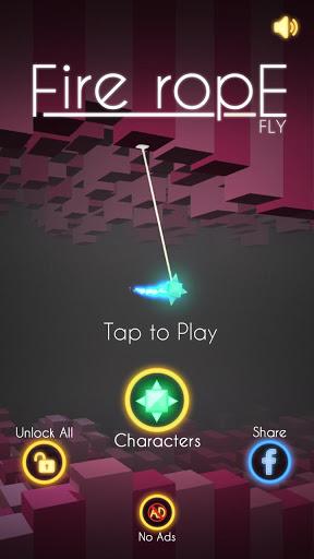 星星之火Fire Rope Fly游戏v1.1截图0