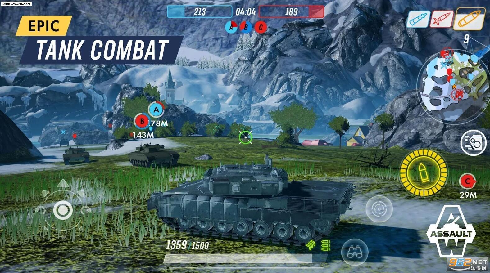 装甲战争突击游戏手机版_截图