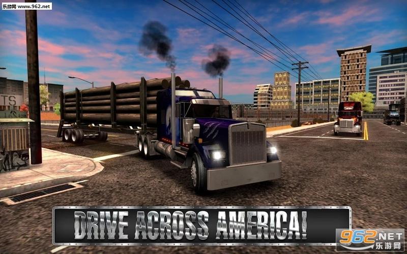 卡车模拟USA破解版v2.1.0_截图1