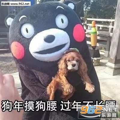 狗年摸狗头表情包图片
