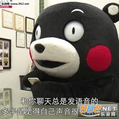 熊本熊表情的注意事项网恋我特么...表情图图片