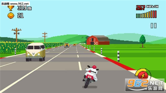 复古公路赛(Retro Highway)手游官方版v1.0_截图