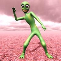 绿色外星人跳舞的游戏 v1.0