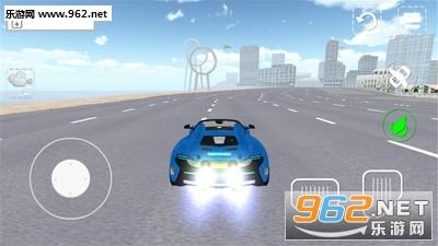 飞行跑车模拟器安卓版v1.0_截图0