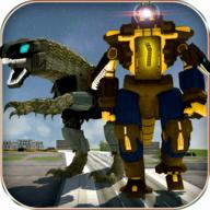 迪诺机器人转型破解版v2.0