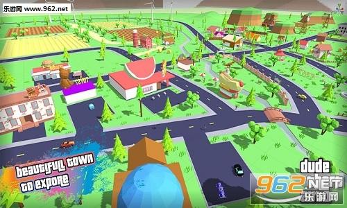 盗窃汽车:开放世界的沙盒游戏最新版v0.82b_截图2