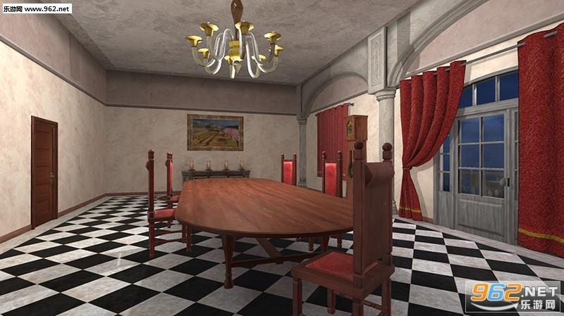逃脱游戏黑之馆的杀人事件无广告版v1.0.0_截图1