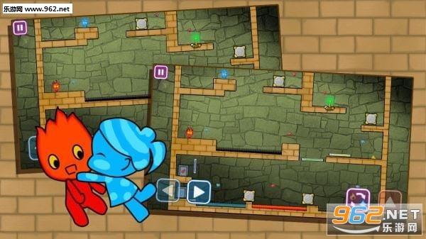 红蓝迷宫大冒险安卓版v1.8截图1