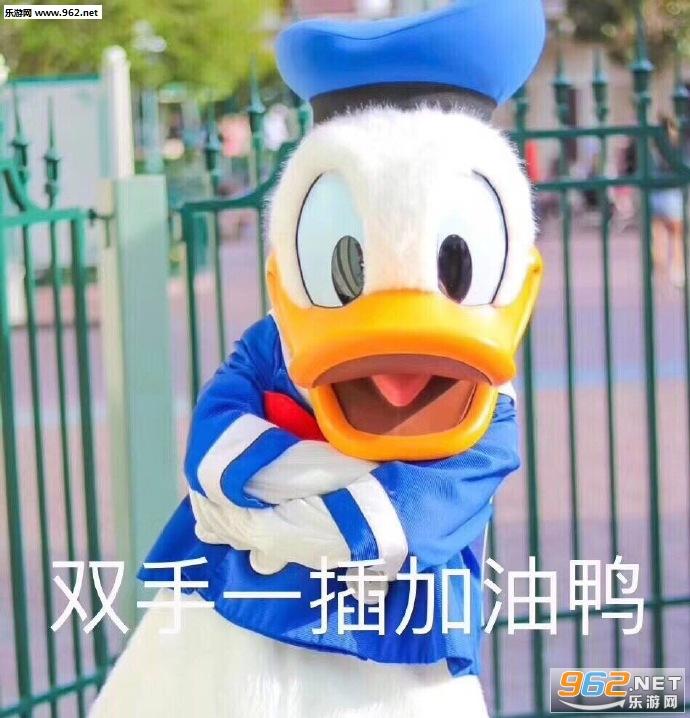 今天不想加油鸭表情作死gif搞笑图图片