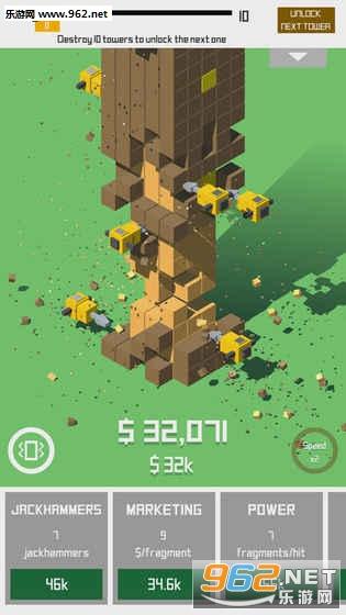 Jackhammer Tower破解版v1.0.2_截图2