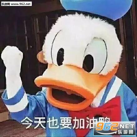 今天不想聊天鸭表情信微表情包+加油+搞笑图片