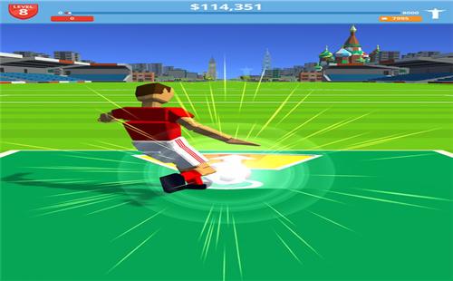 Soccer Kick游戏下载_攻略_破解版_乐游网