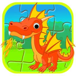 宝宝儿童动物拼图app