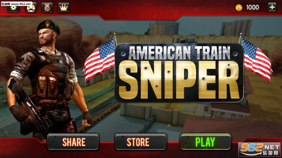 Sniper 3D:Train Shooting Game安卓版