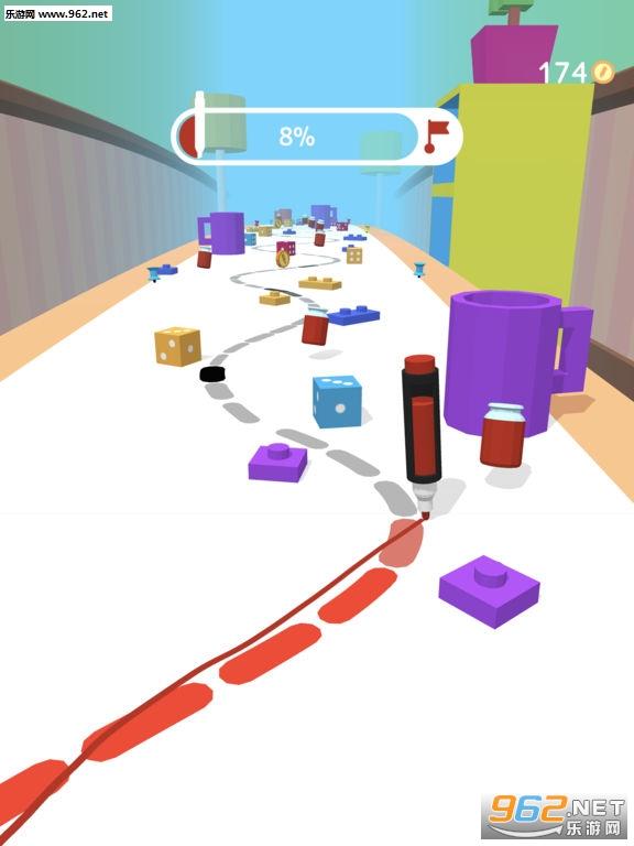 抖音铅笔跑酷游戏  《 Pen Run》玩法攻略