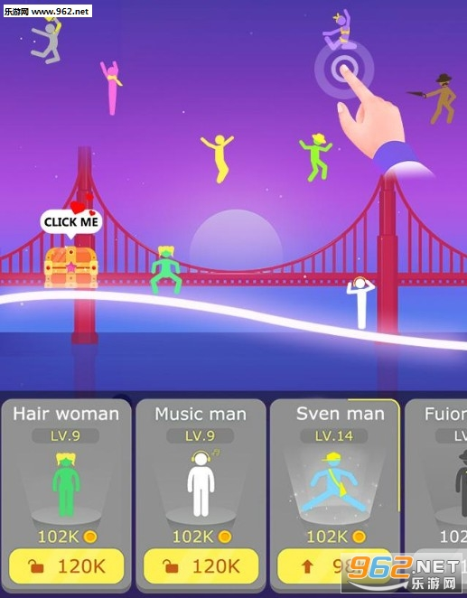 抖音小人跳舞的游戏   《 Lets Jump》玩法介绍