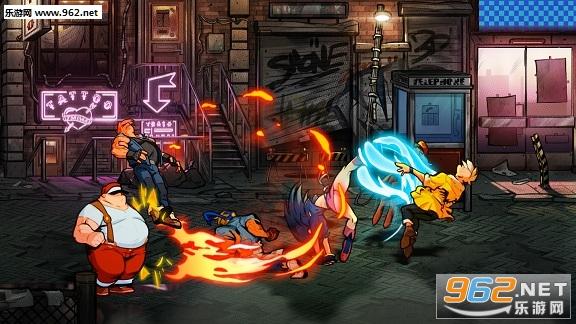 《怒之铁拳4》实机视频放出 加入新机制新故事关卡
