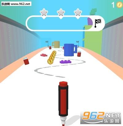 抖音跳舞的笔游戏下载    跳舞的笔(Pen Run)玩法攻略