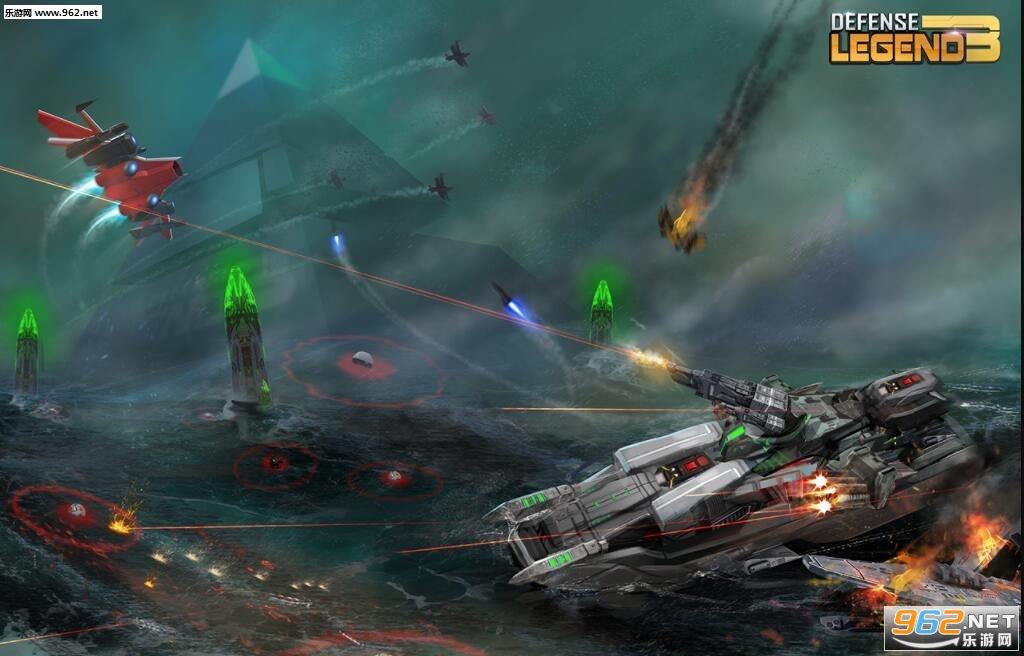 塔防传奇3未来战争破解版v2.0.3_截图4