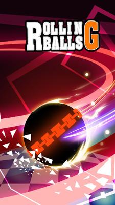 滚动的球球安卓版v1.0.0截图0