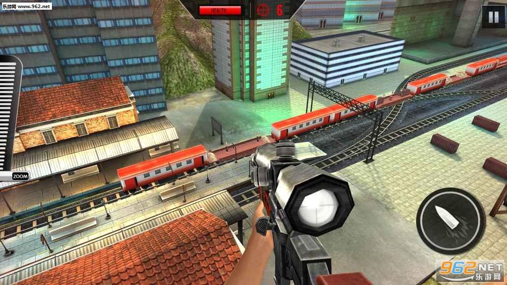 Sniper 3D:Train Shooting Game安卓版v1.9_截图3