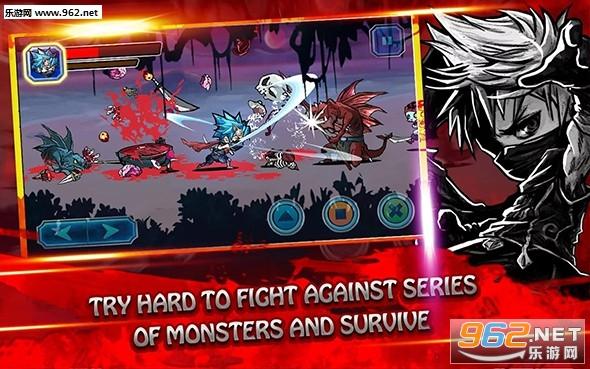 忍者战斗全人物解锁版v1.2.0截图1
