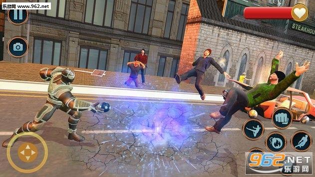 超级英雄救援任务安卓版v1.0.6(Superhero Panther Robot Battle City Rescue Games)_截图3