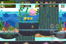 Battle Sponge Jungle Run安卓版v1.0(超级海绵宝宝丛林)_截图2