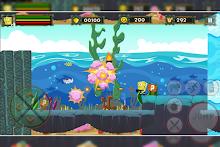 Battle Sponge Jungle Run安卓版v1.0(超级海绵宝宝丛林)_截图3