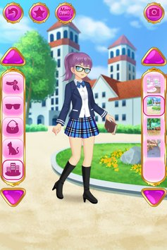 动漫装扮女孩游戏安卓版v1.1.3(Anime Dress Up)_截图0