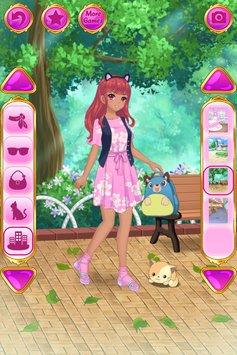动漫装扮女孩游戏安卓版v1.1.3(Anime Dress Up)_截图1