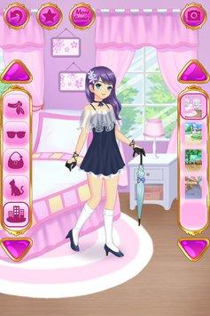动漫装扮女孩游戏安卓版v1.1.3(Anime Dress Up)_截图2