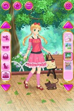 动漫装扮女孩游戏安卓版v1.1.3(Anime Dress Up)_截图4